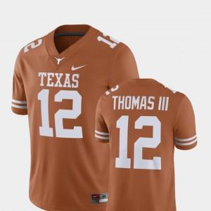 Mens Alumni Football Game Player UT #12 Earl Thomas college Jersey - Texas Orange