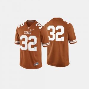 Men's Football UT #32 college Jersey - Burnt Orange