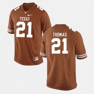 Men UT #21 Football Duke Thomas college Jersey - Burnt Orange