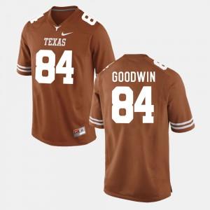 Men's UT Football #84 Marquise Goodwin college Jersey - Burnt Orange