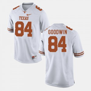 Men's Texas Longhorns #84 Football Marquise Goodwin college Jersey - White