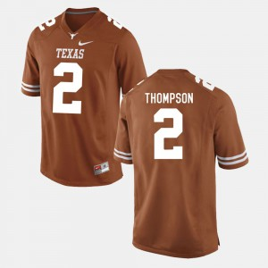 Men UT Football #2 Mykkele Thompson college Jersey - Burnt Orange